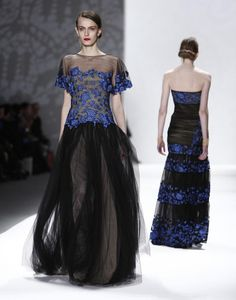 Tadashi Shoji Fall/Winter 2012 collection show during New York Fashion Week, February 9, 2012.