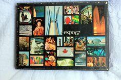 Expo 67 Memorial Album - livre-souvenir Expo - Expo 67 Souvenir album - Rare - première édition - Expo 67 album-Expo 67 livre