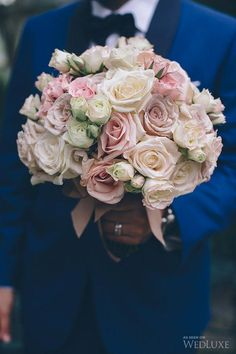 WedLuxe– Pretty-in-Pink Garden Wedding    Follow @WedLuxe for more wedding inspiration!