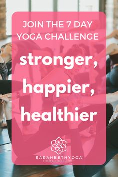 Join the 7 day yoga challenge to transform your body Morning Yoga Stretches, Morning Yoga Sequences, Morning Yoga Flow, Morning Yoga Routine, Yoga For All, Yoga For Back Pain, Online Workout Videos, Hip Opening Yoga, Free Yoga Videos