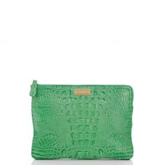 a tablet clutch - in kelly green!  adorable.
