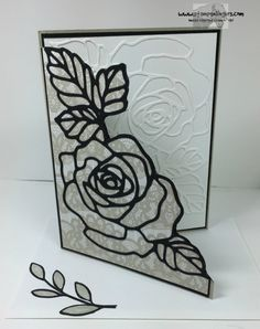 Rose Garden Thoughts and Prayers 6 - Stamps-N-Lingers Rosengarten Gedanken und Gebete 6 - Briefmarken-N-Lingers Wedding Shower Cards, Wedding Cards, Butterfly Flowers, Rose Flowers, Purple Roses, Die Cut Cards, Stamping Up Cards, Sympathy Cards, Flower Cards
