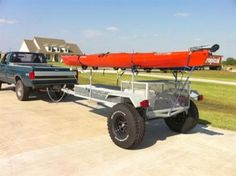 Tackle, Rigging & Reviews - Kayak trailers - what have you got ?