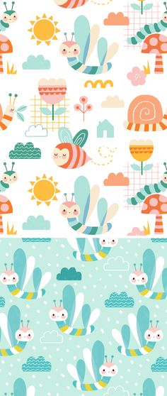 wendy kendall designs – freelance surface pattern designer » sunny day