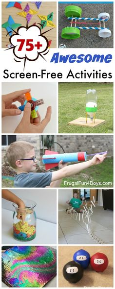 75 Screen-Free Activities and Crafts (Perfect for ages 8-12!)