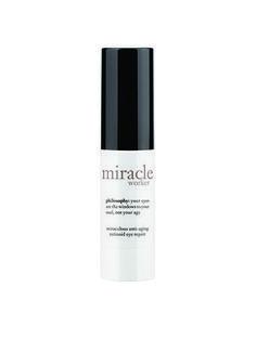 Best of Beauty 2015 Winner -- Best line-smoothing eye cream: Philosophy Miracle Worker Miraculous Anti-Aging Retinoid Eye Repair   allure.com