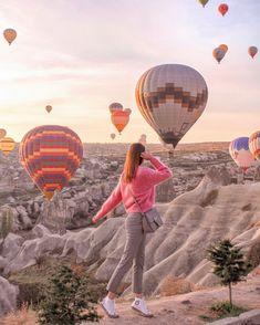 C - cappadocia Cappadocia Turkey, Istanbul Turkey, Turkey Travel, Travel Couple, Adventure Awaits, Holiday Destinations, Tutorial, Places To Travel, North America