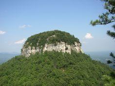 Image detail for -File:Big Pinnacle of Pilot Mountain.jpg - Wikipedia, the free ...