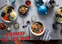 I see a Bibimbap party in the near future. YUM! How to Throw a Korean Bibimbap Dinner Party: BA Daily
