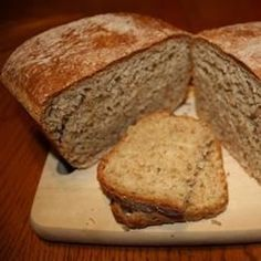 A very good high protein bread. I use it for sandwiches and toast. (No points but high protein is good. Honey Wheat Bread, Wheat Bread Recipe, Bread Maker Recipes, Flour Recipes, High Protein Bread Machine Recipe, High Fiber Bread Recipe, Casserole Recipes, Cake Recipes, Dessert Recipes