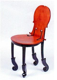 Music Chair on rollers. #music #interiors #chair #musicinteriors http://www.pinterest.com/TheHitman14/music-interiordecor-%2B/