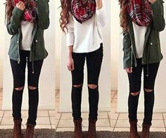 I actually every single thing in my closet to make this outfit!! :D :D