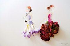 Love Limzy faz belíssimos trabalhos com flores etc...