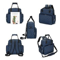f23979a80961 Amazon.com : Diaper Bag Multi-Function Waterproof Travel Backpack Nappy Bags  for Baby Care, Large Capacity, Stylish and Durable, Mom Bag by Missalis :  Baby