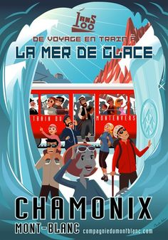 Charlie Adam, graphic artist and illustrator, based in Annecy and Chamonix, France, creator of Bungalow Graphics Ski Vintage, Vintage Ski Posters, Photo Vintage, Kids Poster, Poster Ads, Advertising Poster, Travel Ads, Travel Images, Chamonix Mont Blanc