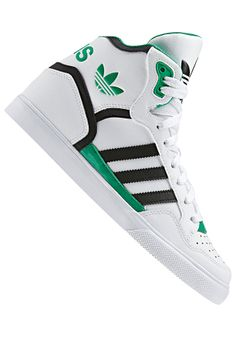 #planetsports ADIDAS - Womens Extaball running white ftw / black 1 / fresh green s11