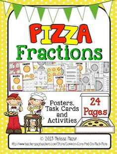 Pizza Fractions and a Freebie!