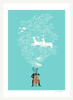 prints by Lim Heng Swee...would love to have for baby room