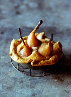 Food photography and styling : Pear Tart