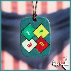 Náhrdelníky - Amulet - Efred Genahak - 4218786_