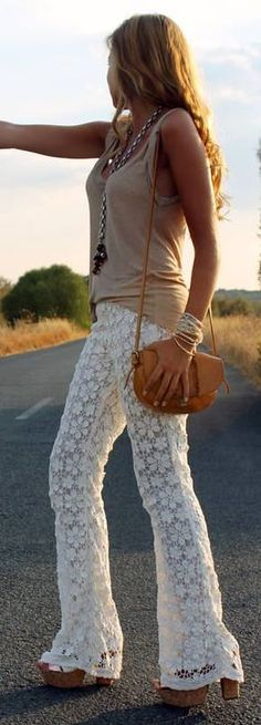 Swooning over these pants!!  Hippie Pants # | Fashion I Like