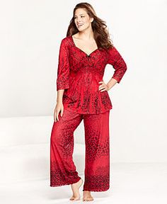 Plus Size Pajamas   Robes for Women - Macy s d2d224f3ee6