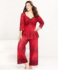 Plus Size Pajamas & Robes for Women - Macy's | Dreamland ...