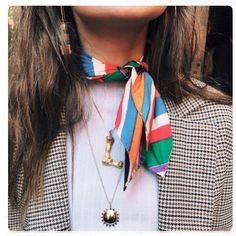 """83 Likes, 6 Comments - ViLoves Fashion (@vilovesfashion) on Instagram: """"De esos looks con pañoletas... levanten la mano a quien les guste y quieran más ideas de cómo…"""""""