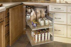 Awe-inspiring Blind Corner Base Cabinet with Rev-a-shelf Chrome Blind Corner Optimizer also Laminate Countertops Straight Edge of Kitchen Cabinet ~ Interior Cabinet on Cabinetbaskets.com
