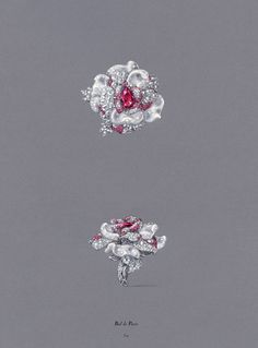 'Dior Joaillerie', by Victoire de Castellane. Simply great! Do you really think it's a drawing?