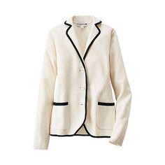 WOMEN Ines Milano Rib Long Sleeve Jacket