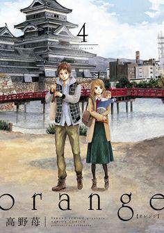 El Manga Orange de Ichigo Takano tiene mas de diez millones de copias impresas.