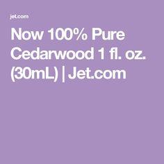 Now 100% Pure Cedarwood 1 fl. oz. (30mL)   Jet.com