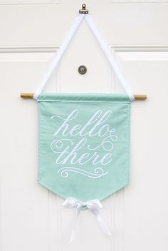 Making this today. Cute saying or house numbers? Will make a wonderful housewarming gift!