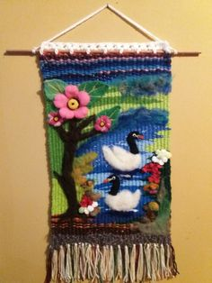 Weaving Art, Loom Weaving, Tapestry Weaving, Wet Felting, Needle Felting, Felt Art, Knitting Designs, Fiber Art, Christmas Stockings