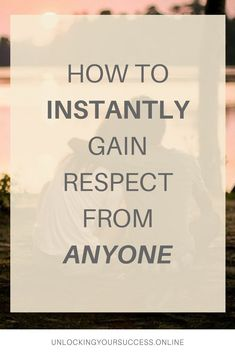 Want to know how you can be respected and taken more seriously? Check out this this blog post! | blog | how to gain respect instantly | building rapport | build great relationships | #buildingrelationships #respect #selfhelp #gainrespectinstantly #relationships #socialgatherings
