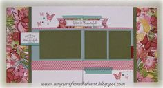 layout by Amy Moore using CTMH Brushed paper