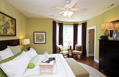 Laminate, Carpet, Modern, Bay