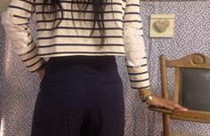 The FAIRY TALE begins.....   with the PINOCCHIO blouse and the OLIVER TWIST trousers.....!  Already in store!!