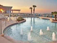 Holiday Inn Express Pensacola Beach: Top 7 Oceanfront Hotels in Pensacola Beach in 2019 (with Prices & Photos) - TripsToDiscover Visit Florida, Florida Travel, Florida Trips, Hawaii Travel, Pensacola Beach, Destin Beach, Holiday Resort, Beach Holiday, Thailand Travel