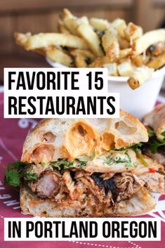 Best Restaurants in Portland, Oregon