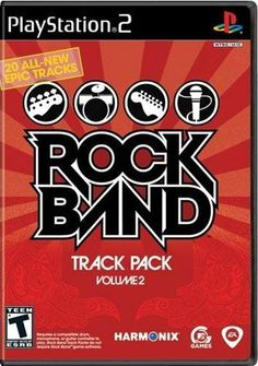 Rock Band Track Pack: Vol. 2 (Nintendo Wii, for sale online The Smashing Pumpkins, Rock And Roll Fantasy, Music System, Lynyrd Skynyrd, Xbox 360 Games, Game Sales, Music Library, Single Player, News Track
