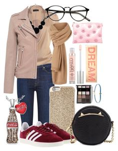 """Untitled #40"" by andreea-cassandra on Polyvore featuring 7 For All Mankind, IRO, Michael Kors, adidas, Betsey Johnson, The Bradford Exchange, Trish McEvoy, Urban Decay, Vieta and Daniela Villegas"