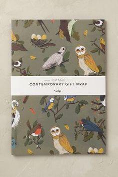 Contemporary Gift Wrap Set