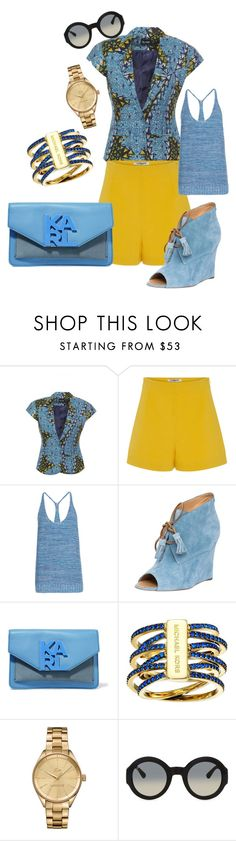 Untitled #16 by p-bpoker on Polyvore featuring BCBGMAXAZRIA, Cacharel, Dsquared2, Karl Lagerfeld, Michael Kors, Lacoste and Gucci