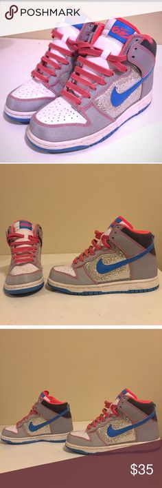 Nike dunk 6.0 Bought used  but were too big for my daughter- previous owner said only wore 2 times Nike Shoes Athletic Shoes