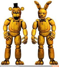 spring bonnie and fredbear