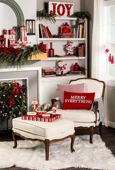 Looking for for ideas for farmhouse christmas decor? Check this out for very best farmhouse christmas decor inspiration. This cool farmhouse christmas decor ideas seems absolutely brilliant. Diy Christmas Fireplace, Christmas Signs Wood, Farmhouse Christmas Decor, Noel Christmas, White Christmas, Beautiful Christmas, Christmas Coffee, Christmas Gifts, Christmas Feeling