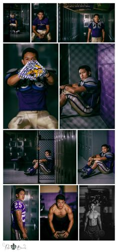 Senior Picture Ideas for Guys | Football