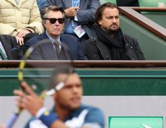 Henri Leconte - Bryan Ferry and Henri Leconte at the French Open 50 years of Tennis Rock'n'Roll by Startourguide Henri Leconte Bryan Ferry and Henri Leconte more pictures: http://henri-leconte.com/en/gallery  and http://startourguide.easybrixx.de/en/hl-about-friends/